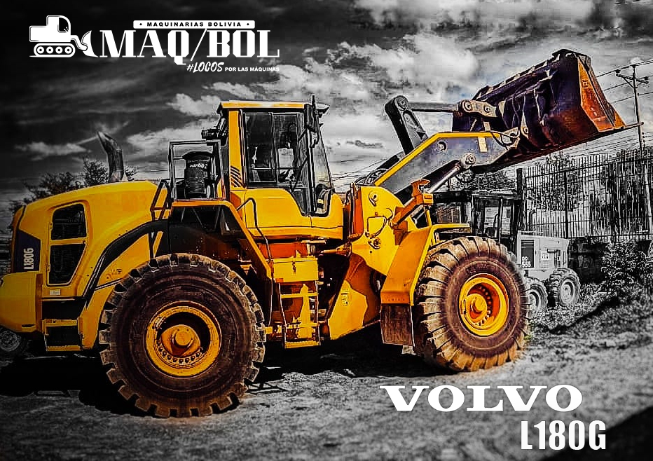 Pala cargadora Volvo L180G