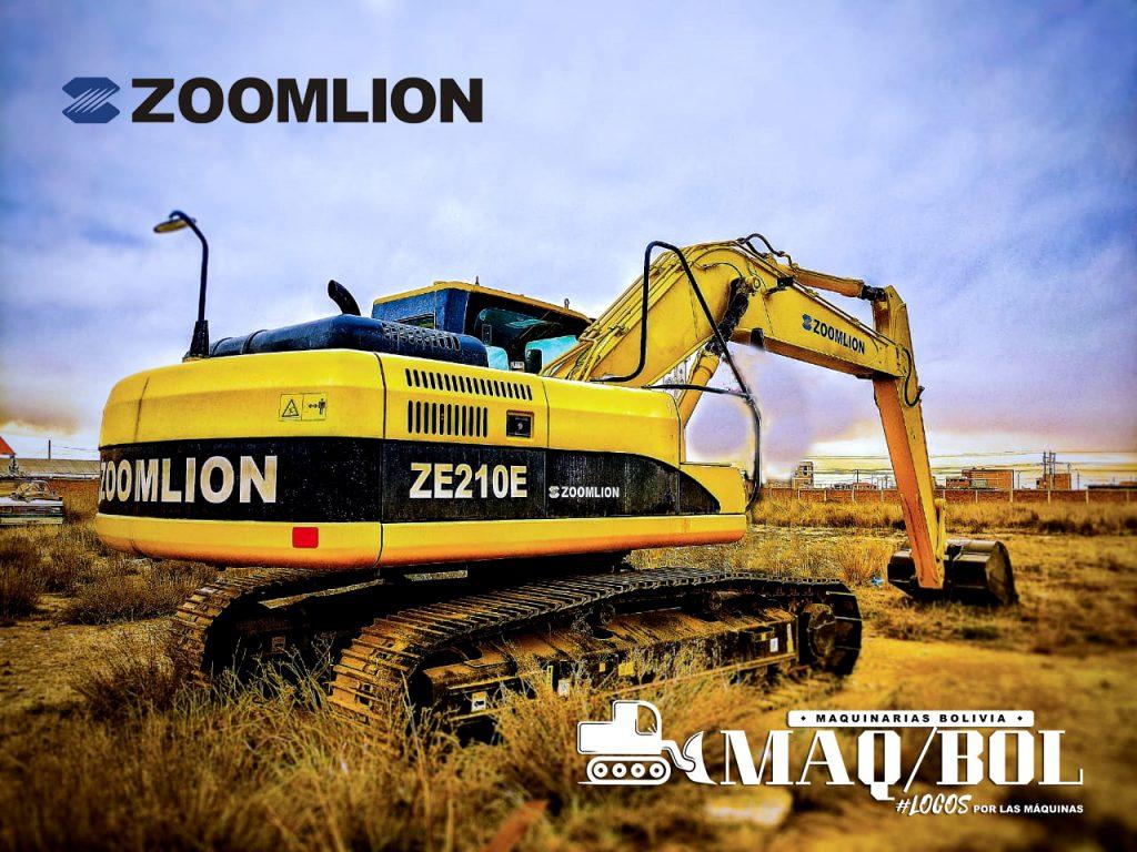 excavadora zoolion ze210E año 2017
